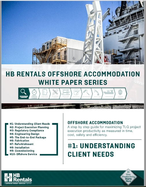 Offshore Accommodation White Paper Series