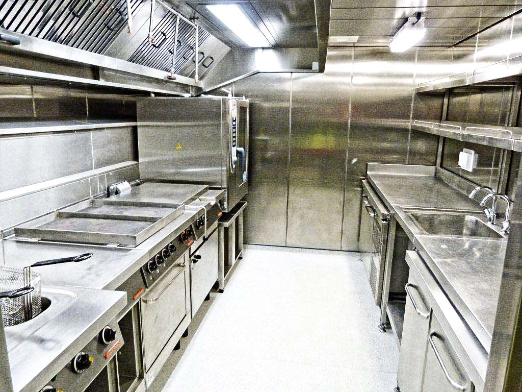 Linkable Galley Module: Food Prep Area