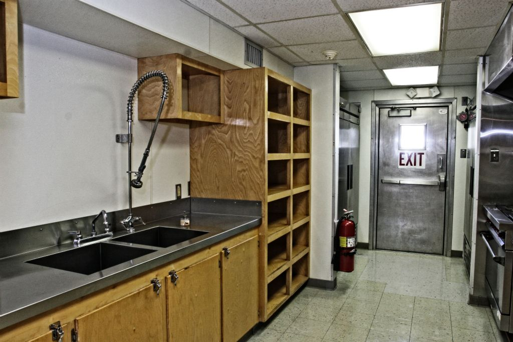 Galley: Food Prep Area